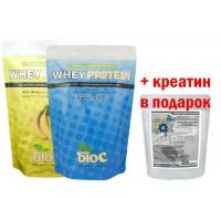 Протеин БиоС 2кг + Креатин в подарок