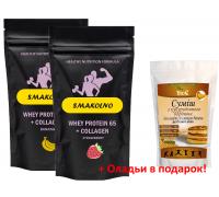 Сывороточный протеин + оладьи